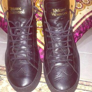 Vivienne Westwood Mens Hightop Sneakers